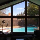 Window Tinting for home in Frisco,Tx improves the view and reflects heat!