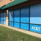AT&T store in Dallas, TX gets a face-lift with exterior-vinyl signage