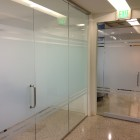 Frost Window film gives contemporary look to offices in Dallas TX!