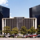 Commercial window tinting reduces temperature in the Plaza of the Americas  Dallas TX