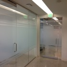Architectural Glass Solutions in Dallas, Texas Installs Frost Film Cut Out for ArchPoint Implant Dentistry