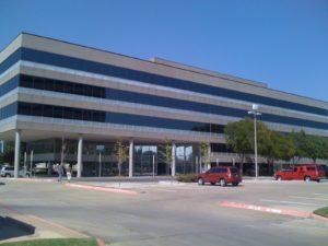Corporate headquarters solar filmed for energy savings in Irving , Tx